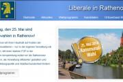 FDP-Rathenow.de - FDP mit neuem Internet-Auftritt zur Kommunalwahl 2014