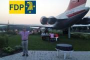 FDP-Sommerfest 2014 in Stölln auf dem Gollenberg - über 100 Besucher waren zu Gast