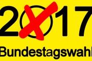 Schwerpunkte des FDP-Wahlprogramms zur Bundestagswahl am 24. September 2017