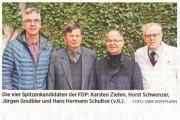 Rathenower Stadtverordnetenversammlung – 15 Liberale wollen ins Parlament